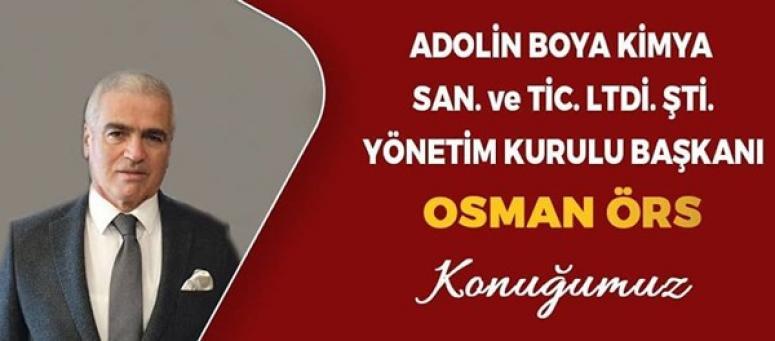Osman Örs, İş Dünyası'na konuk oluyor