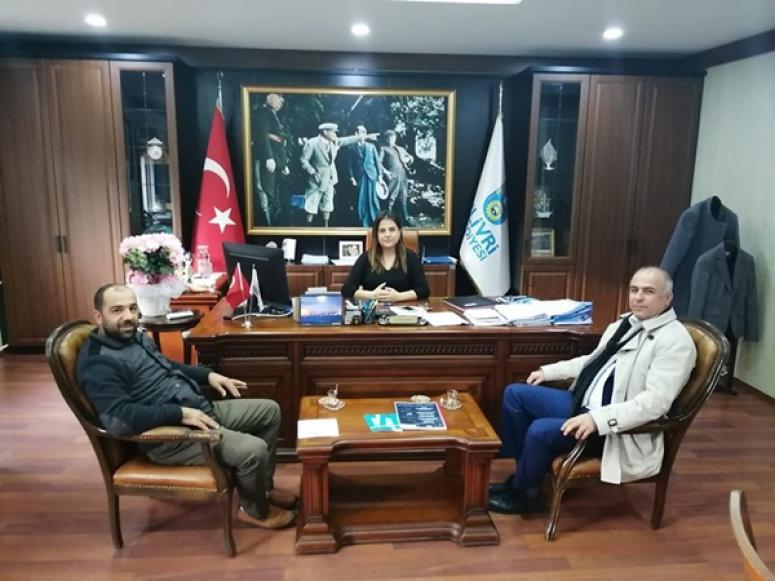 Soydaş'dan Sarısaltıkoğlu'na ziyaret