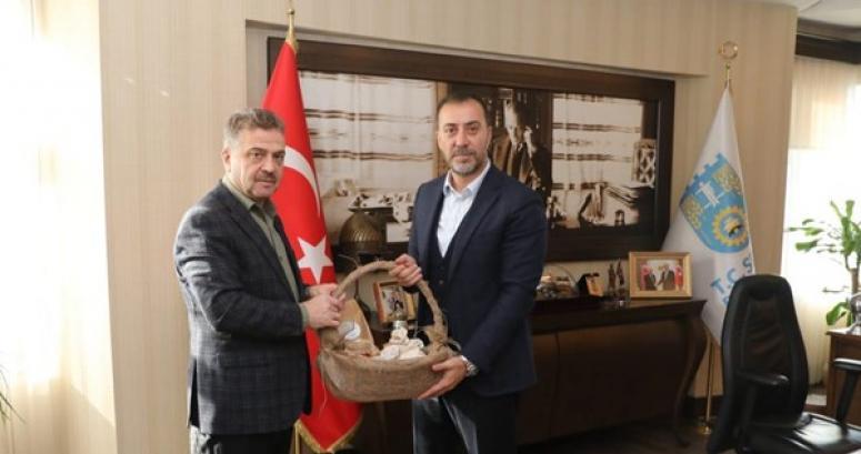Gaziosmanpaşa Belediye Başkanından Yılmaz'a ziyaret