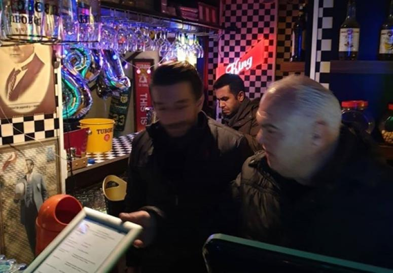 Silivri'de Yılbaşı Öncesi Alkollü Mekanlarda Denetim