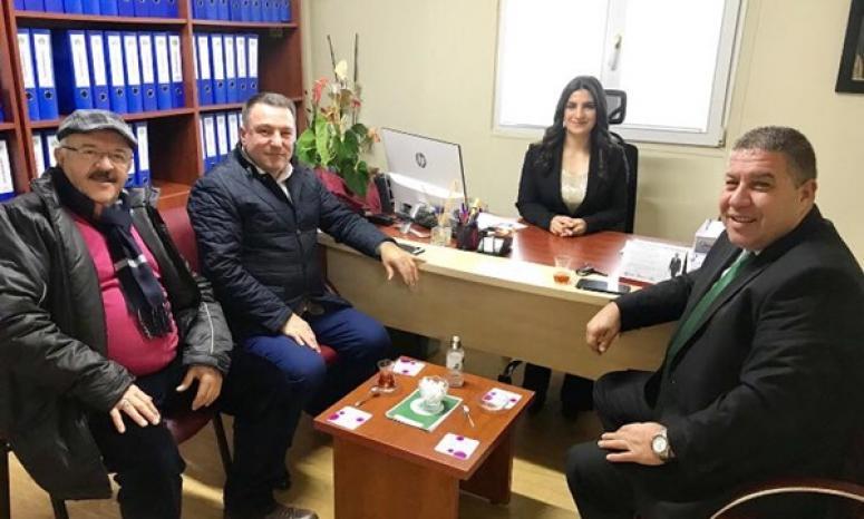 Başkanlardan Bozkurt'a Ziyaret