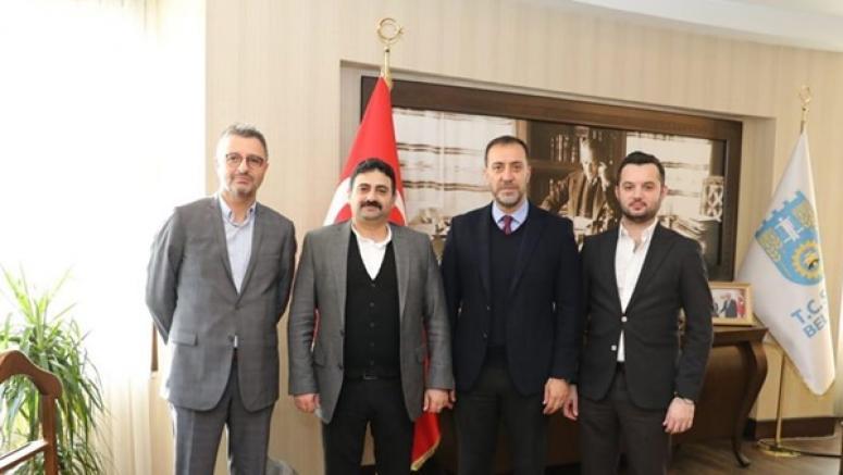 BOTAŞ Proje Müdüründen Yılmaz'a Ziyaret