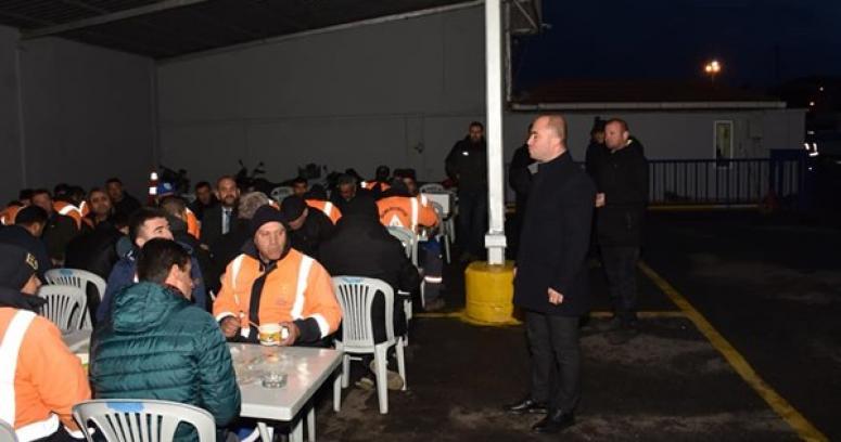 MHP Silivri'den Temizlik İşçilerine Çorba İkramı
