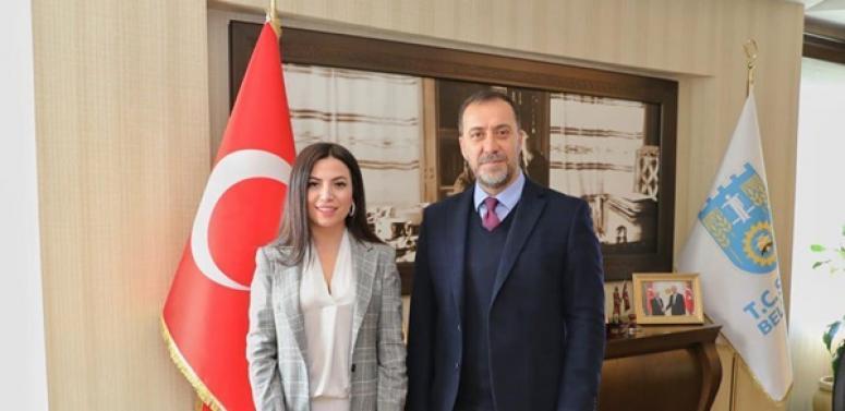 Spor Psikoloğu Karagöz'den Başkan Yılmaz'a Ziyaret