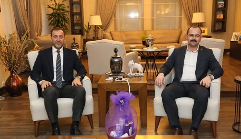 Tosya Belediye Başkanı Kavaklıgil'den Başkan Yılmaz'a Ziyaret