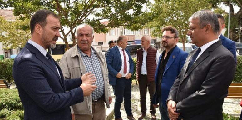 Gazitepe'ye Hizmet Atılımı
