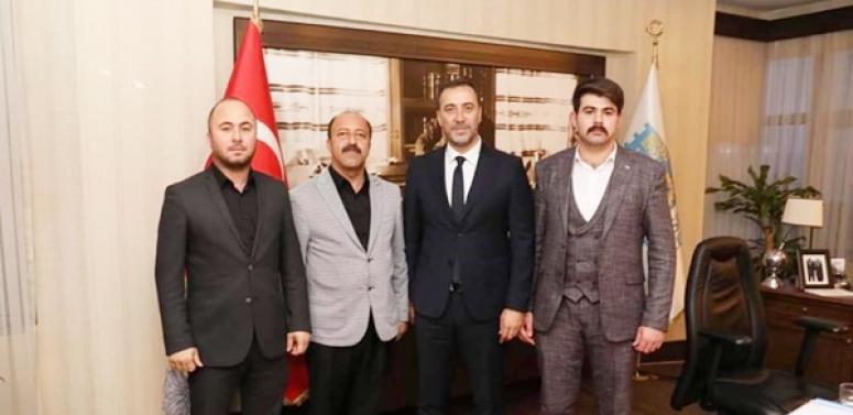 Başkan Yılmaz'ın Konya'dan Misafirleri Vardı