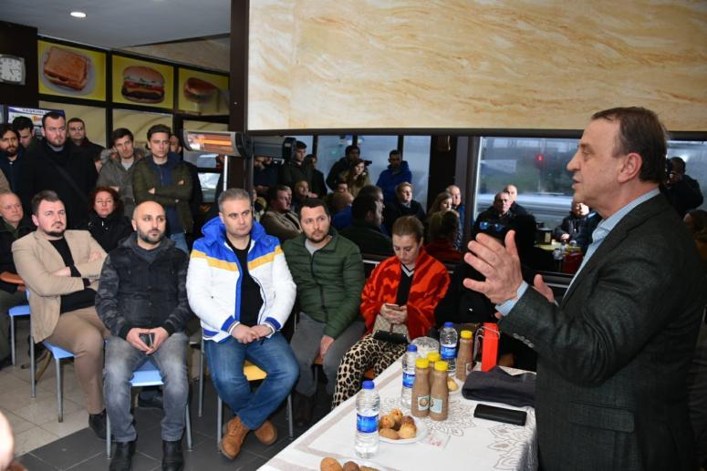 Işıklar Bulgaristan Göçmenleri ile Buluştu