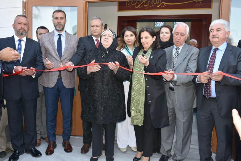 Albayrak Camii ibadete açıldı