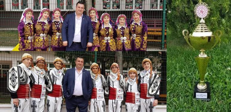 Ahenk, Marmara Bölge 2'incisi oldu!