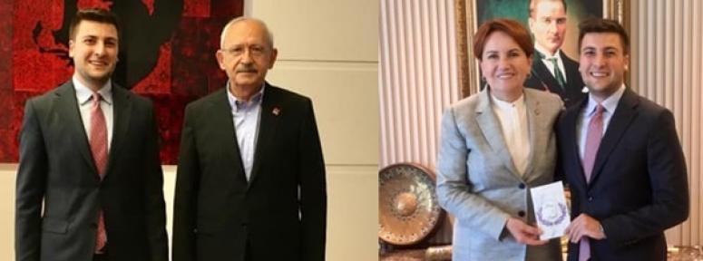 Berker Esen, Kılıçdaroğlu ve Akşener'i düğününe davet etti