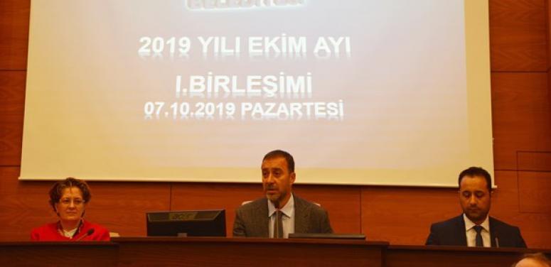 Ekim Ayı Meclisi I. Oturumu Yapıldı