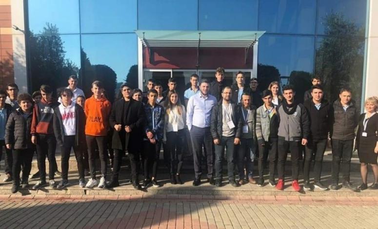 Meslek Liseli Öğrencilerden Turaş ve Turmach'a Ziyaret