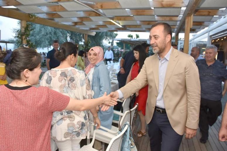 Başkan Yılmaz, Fenerköy Öğretmenleriyle Buluştu