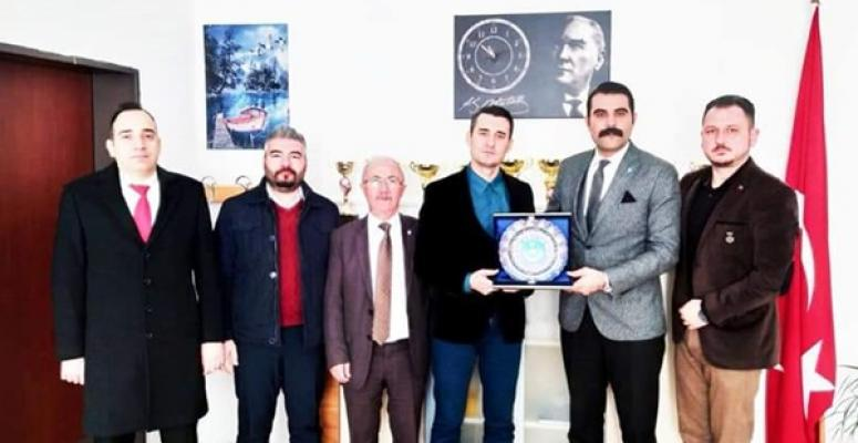 İbrahim Ender Aktan'dan, Silivri'deki Yeni Müdüre 'Hayırlı Olsun' Ziyareti