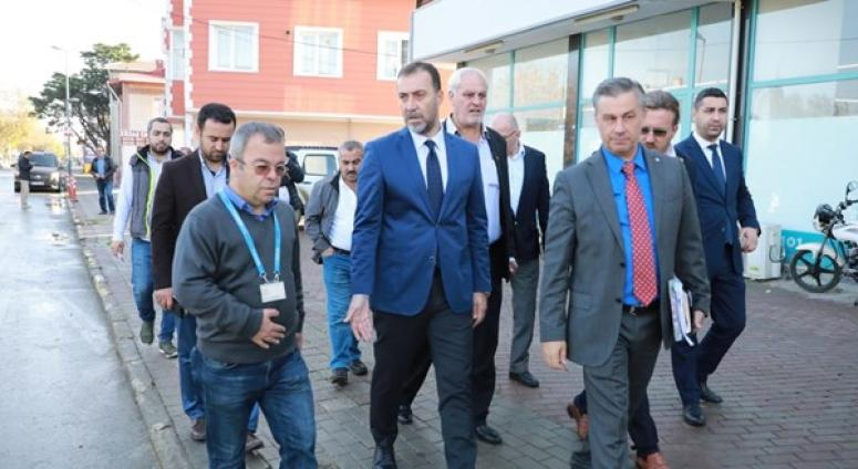 Başkan Yılmaz, Kavaklı'da Tespitler Yaptı