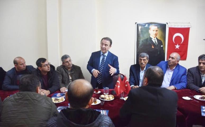 CHP Adayı Erzurumlu hemşerileri ile buluştu