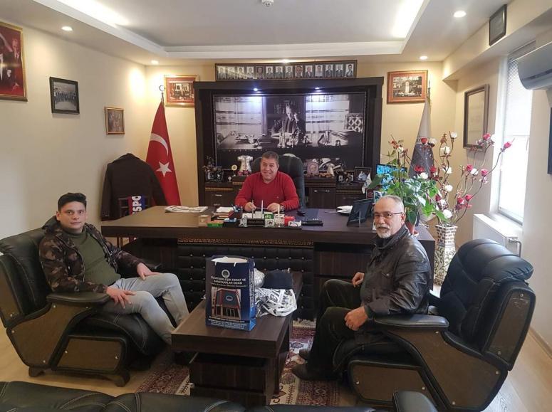 DSP İlçe Başkanı'ndan Koçer'e ziyaret