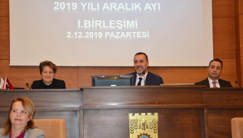 Aralık Ayı Meclis Toplantısı'nın İlk Oturumu Yapıldı
