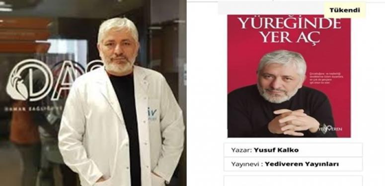 Yusuf Kalko kitap çıkardı: Yüreğinde Yer Aç