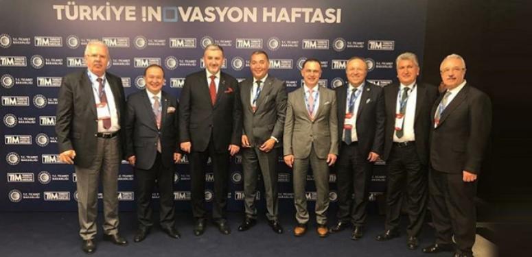 Kocabaş, Türkiye İnovosyon Haftası etkinliğine katıldı