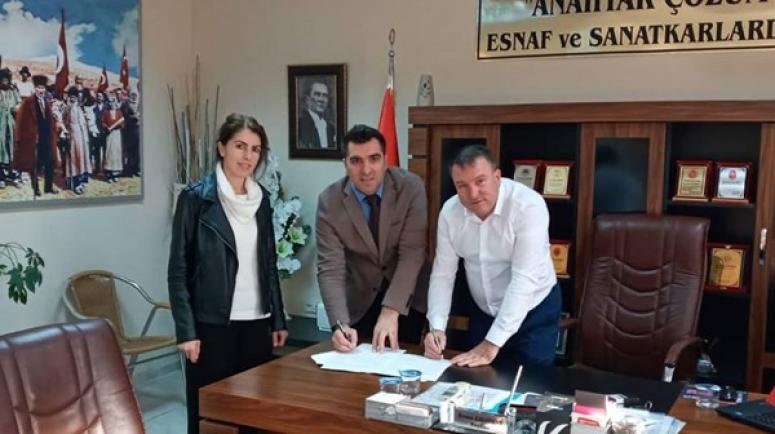Sanayi Sitesi Kooperatifi, Safir'le Protokol İmzaladı