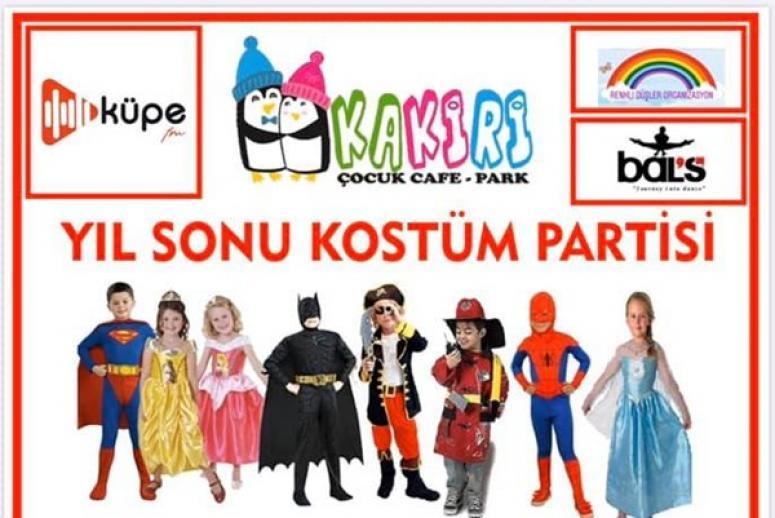 Kakiri'den Yıl Sonuna Özel Kostüm Partisi