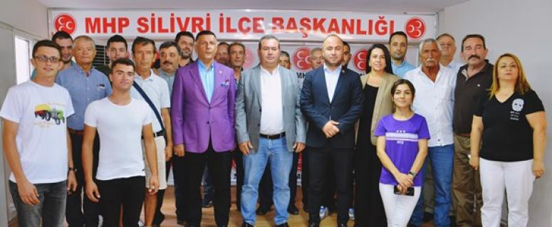 MHP Silivri'de 'yeni katılım' coşkusu