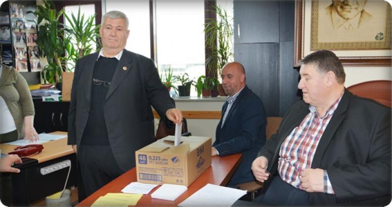 Muhtarlar Derneği'nin yeni Başkanı Muharrem Eren!