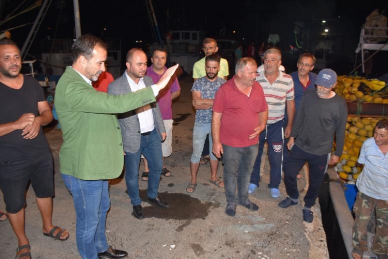 Başkan Yılmaz Balıkçıları Uğurladı