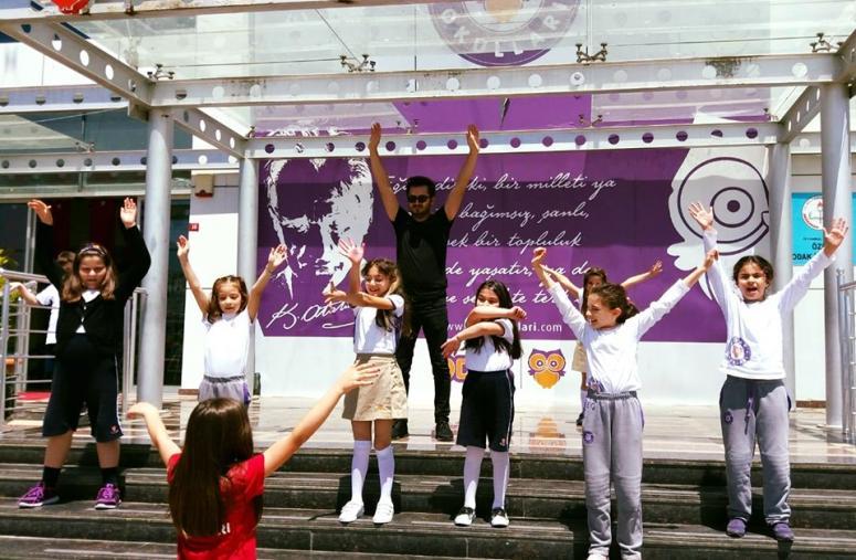 Odak Okulları Öğrencileri Okul Dışarıda Günü Kampanyasına Katıldı