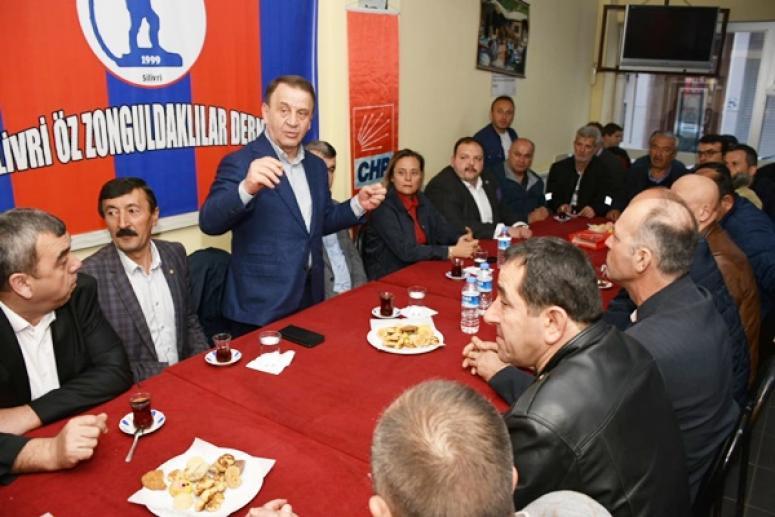 Öz Zonguldaklı ve Kastamonulu hemşerilerinden Işıklar'a tam destek