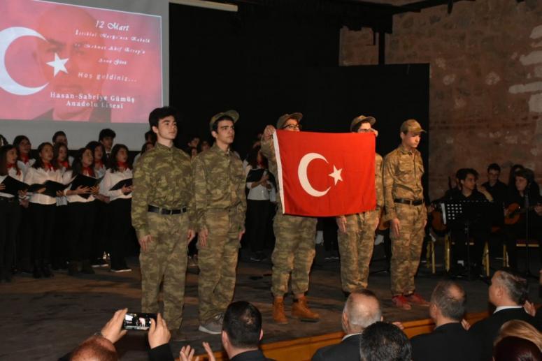 İstiklal Marşı'nın Kabulü ve Ersoy'u Anma Programı Düzenlendi