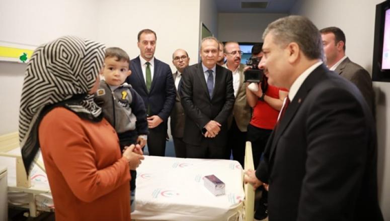 Sağlık Bakanı, Silivri Devlet Hastanesi'ni İnceledi