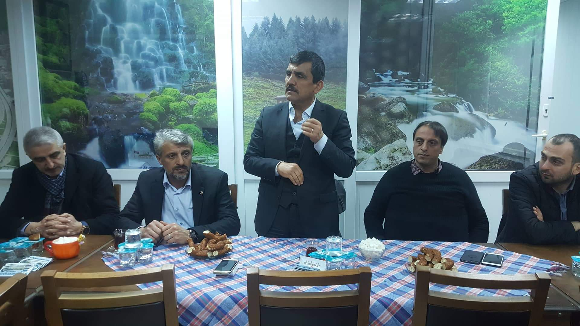 MHP MYK Üyesi Erdem Karakoç, Rizelileri Ziyaret Etti
