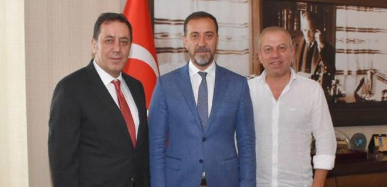 Yılmaz, İstanbul Cumhuriyet Savcısını Ağırladı