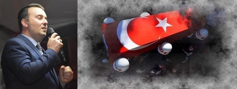 Bozoğlu'ndan şehit Hakan Özdemir için taziye mesajı