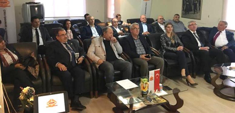 Kocabaş ve Narinç, TRAKYASİFED'in toplantısına katıldı!