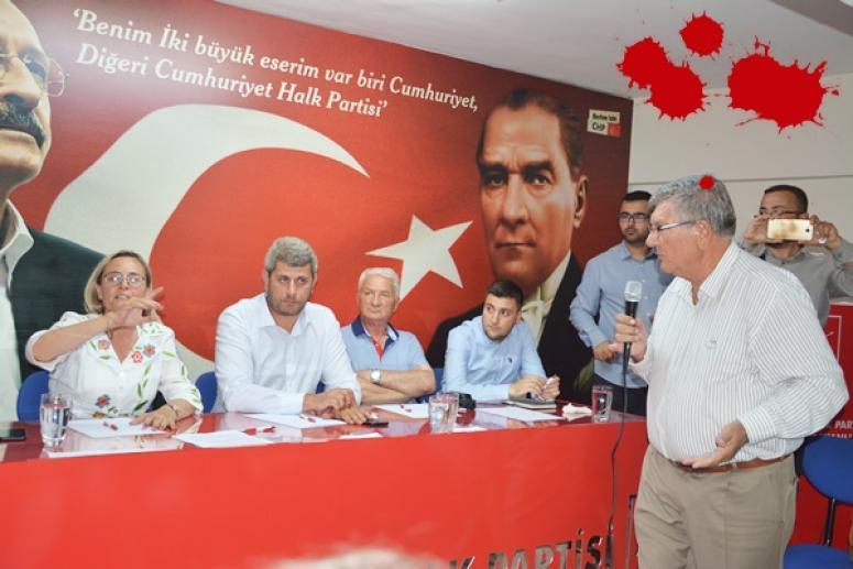 Mümin Tuğlu söz aldı, toplantı basına kapatıldı