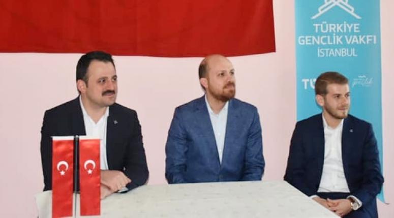 Bilal Erdoğan, TÜGVA Silivri Temsilciliği'ni ziyaret etti