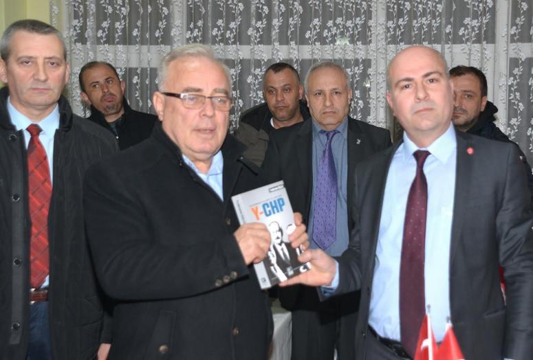 Selami Değirmenci'den Vatan Partisi'ne nezaket ziyareti