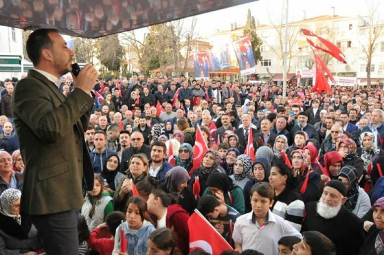 """Yılmaz, Selimpaşa'da iddialı konuştu: """"Kazanacağız"""""""