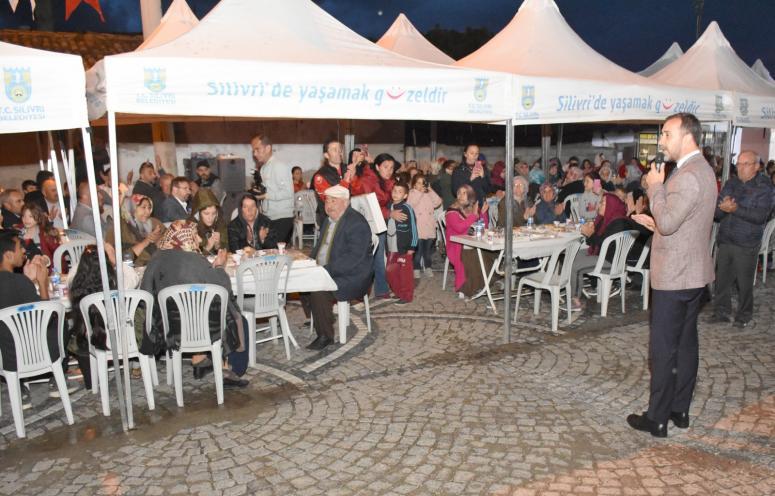 Gazitepe'de Gönül Sofraları Kuruldu
