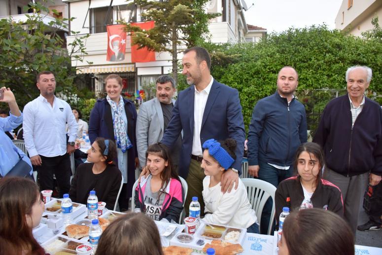 Gönül Sofrası Semizkumlar'da Kuruldu