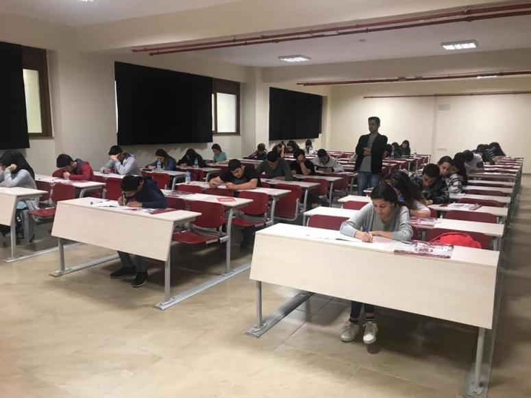 YGS öncesinde Rumeli'de sınava girdiler